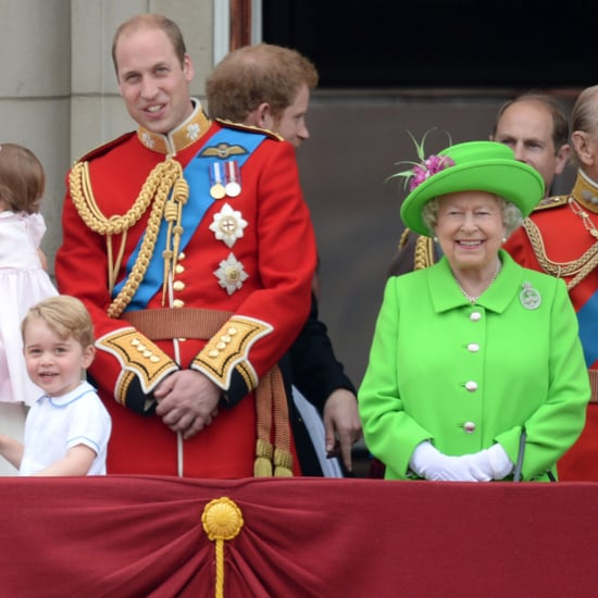 Queen Elizabeth Tells Prince William to Stand Up Video