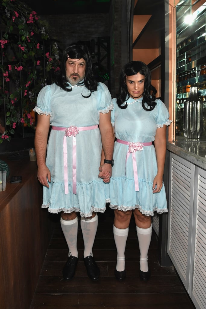 Joey Fatone and Izabel Araujo as The Shining Twins