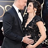 Channing Tatum and his pregnant wife, Jenna Dewan, shared a sweet moment.