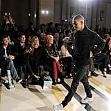 Kate Moss and Jamie Hince were front row for James Small Fall 2012.