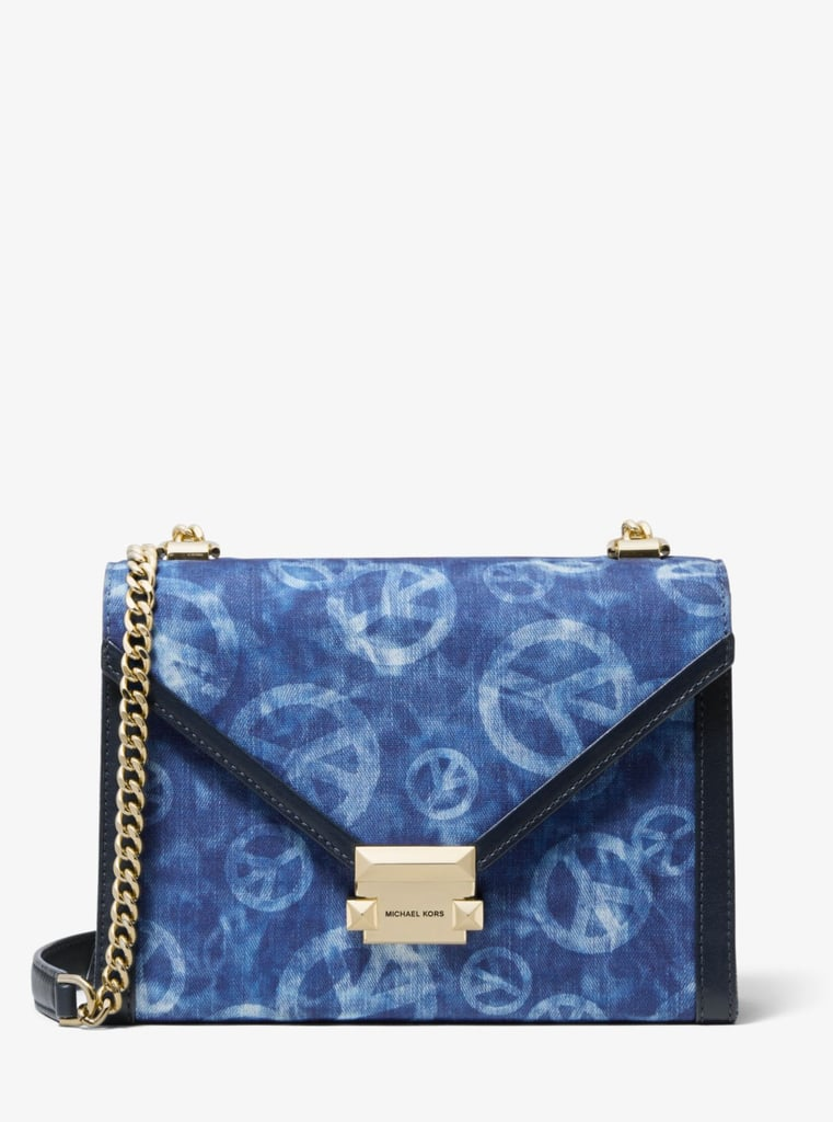 a8a4d6e14ba97b Michael Michael Kors Whitney Large Peace Tie-Dye Convertible Shoulder Bag