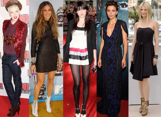 Agyness Deyn Tops Grazia Magazine's Top Ten Best Dressed List, Followed By Gwyneth Paltrow. Kate Moss Is Absent.