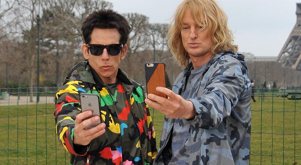 Ben Stiller and Owen Wilson Acting Like Zoolander in Paris