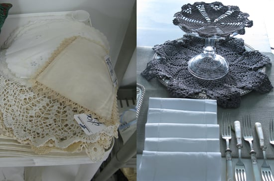 Cool Idea: Dyed Doilies
