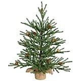 Vickerman Carmel Pine Tree With Pine Cones
