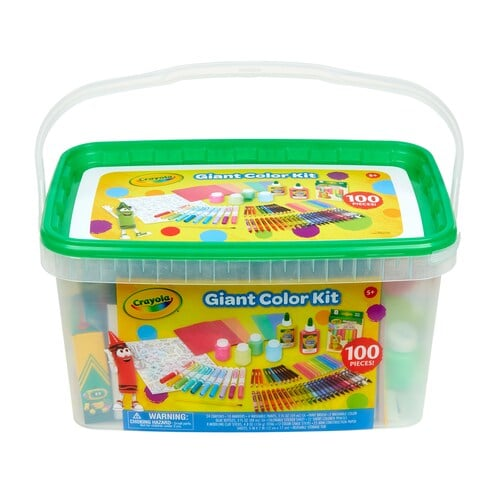 Crayola Jumbo Art Creativity Kit