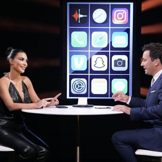 Kim Kardashian Records Her Kids' Voices