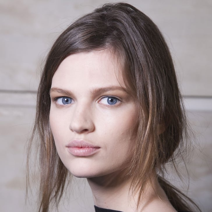 Simple, Texturized Hair Speaks Volumes at Victoria Beckham