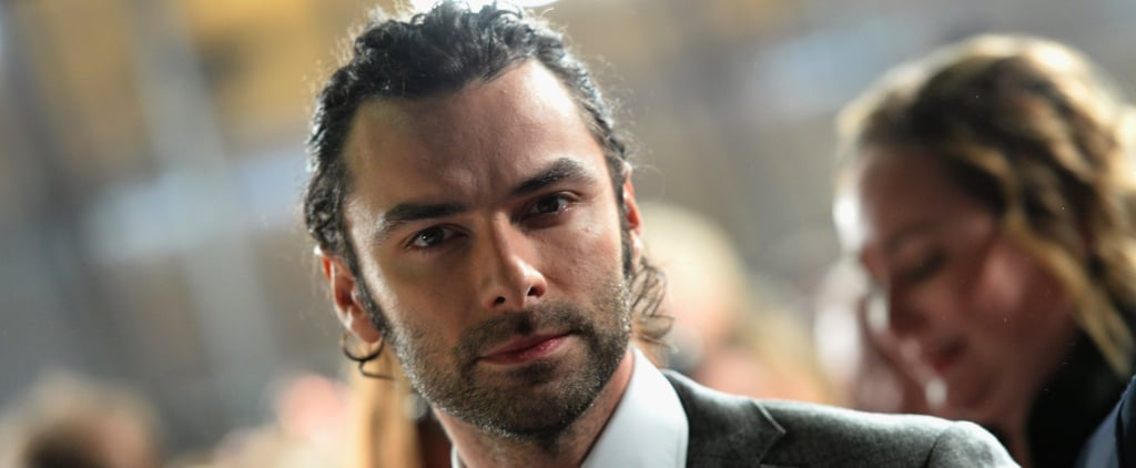 Aidan Turner Brought His Very Best Smoulder to the National TV Awards