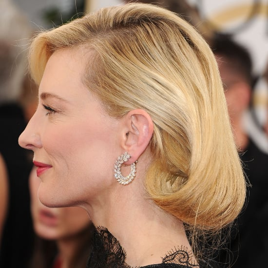 Cate Blanchett Hair How-To | Golden Globes 2014