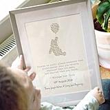 Jonny's Sister Personalised Winnie The Pooh Framed Print