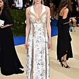 Sophie Turner's Louis Vuitton Dress at the Met Gala 2017
