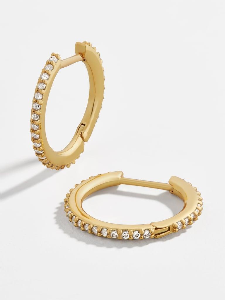 Baublebar Niata Large 18k Gold Vermeil Huggies