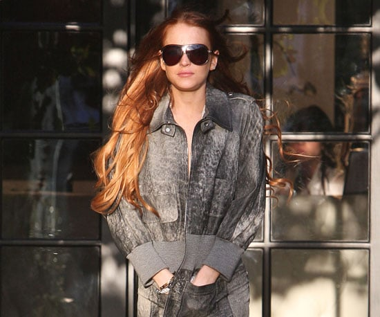 Condensed Sugar: Lindsay Lohan's Rough Week