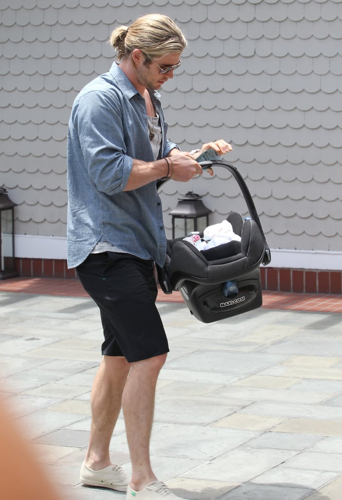 Chris Hemsworth went to Shutters.