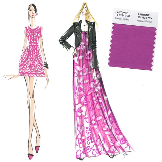 The Color Purple: Designers Envision Pantone's 2014 Picks