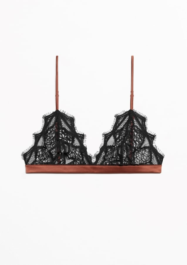 & Other Stories Lace Soft Bra