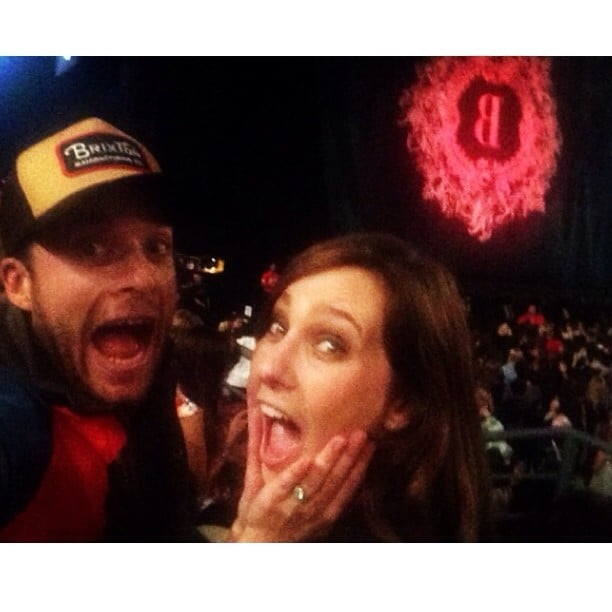 Hamish and Zoë were super-psyched to be at Beyoncé's Melbourne concert in October 2013.