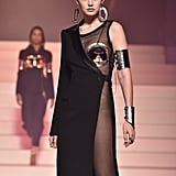 Gigi Hadid on the Jean Paul Gaultier Runway