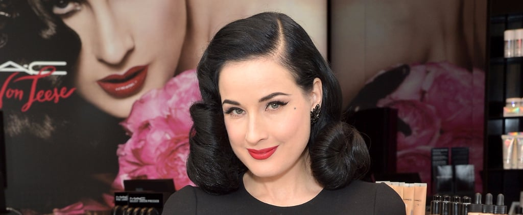 Dita Von Teese Beauty Tips