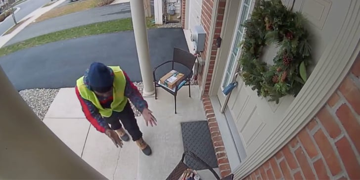 An Amazon Prime Delivery Guy Had the World's Purest Reaction to Discovering Snacks Outside a Home