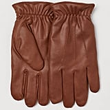 Faux Shearling-Lined Gloves