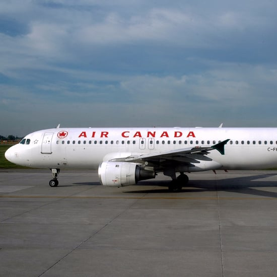 Toddler Wets Herself During Air Canada Flight