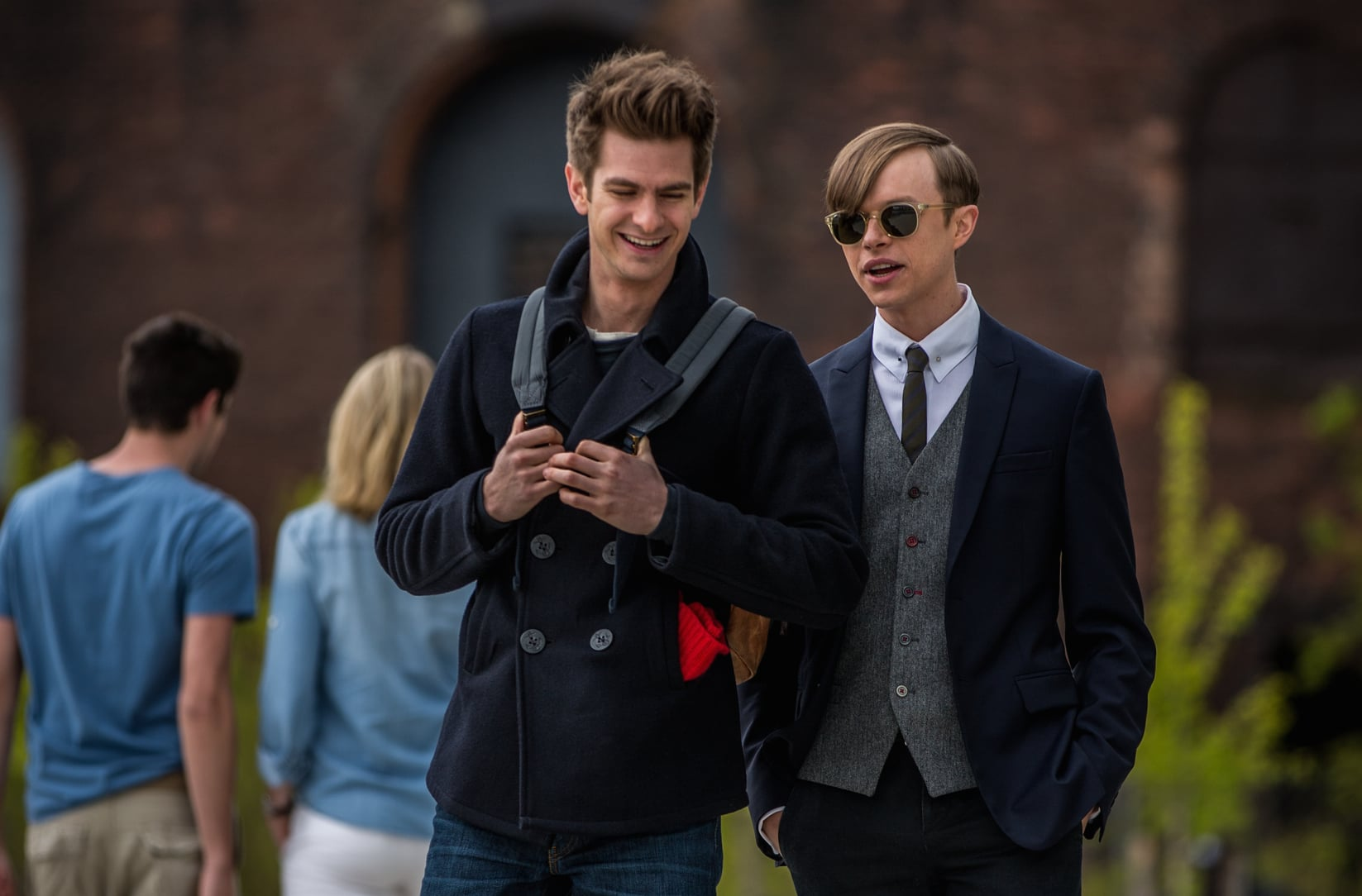 Andrew Garfield and Dane DeHaan in The Amazing Spider-Man 2 | The Sexiest Pictures of Your Summer Movie Crushes | POPSUGAR Entertainment Photo 14