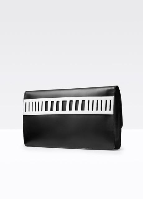 Vince Cut-Out Medium Clutch ($295)