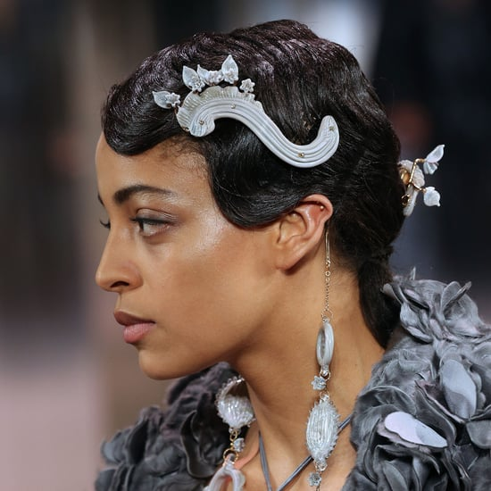 Fendi Spring 2021 Couture Featured Venetian Glass Hair Combs
