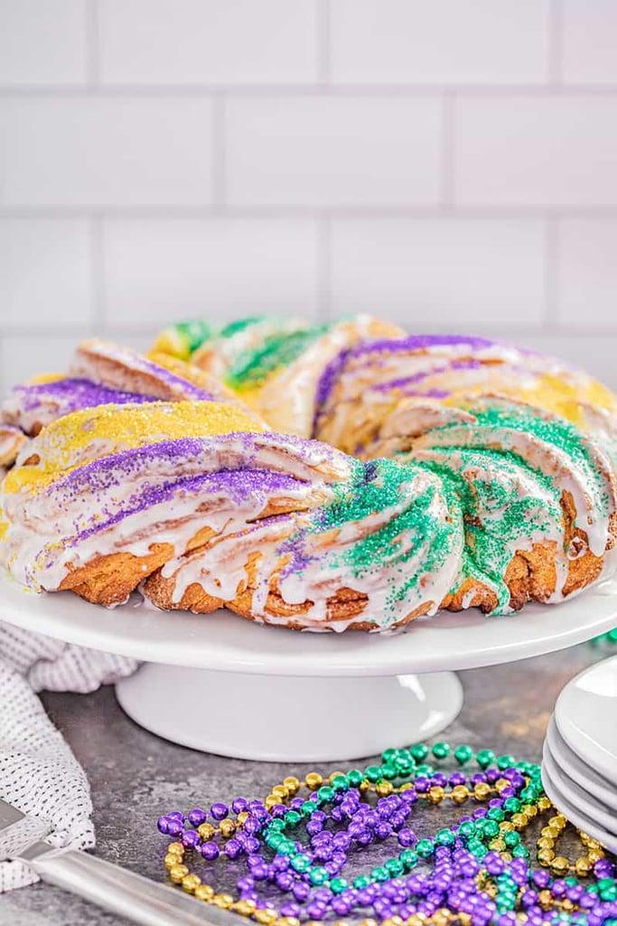 Braided King Cake