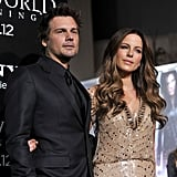 Kate Beckinsale and Len Wiseman went to the Underworld: Awakening premiere together in LA.