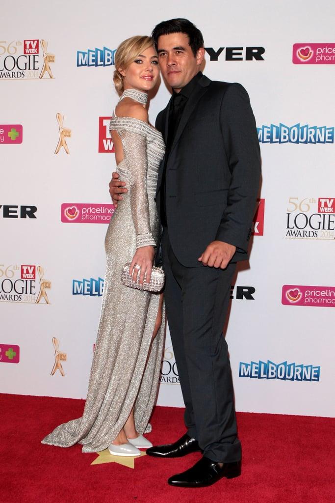 2014: Jessica Marais and James Stewart