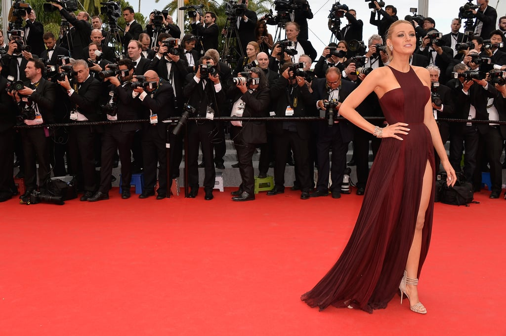 Blake Lively at the Grace of Monaco Cannes Premiere