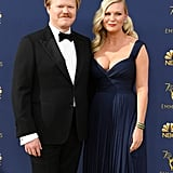 Kirsten Dunst and Jesse Plemons at the 2018 Emmys
