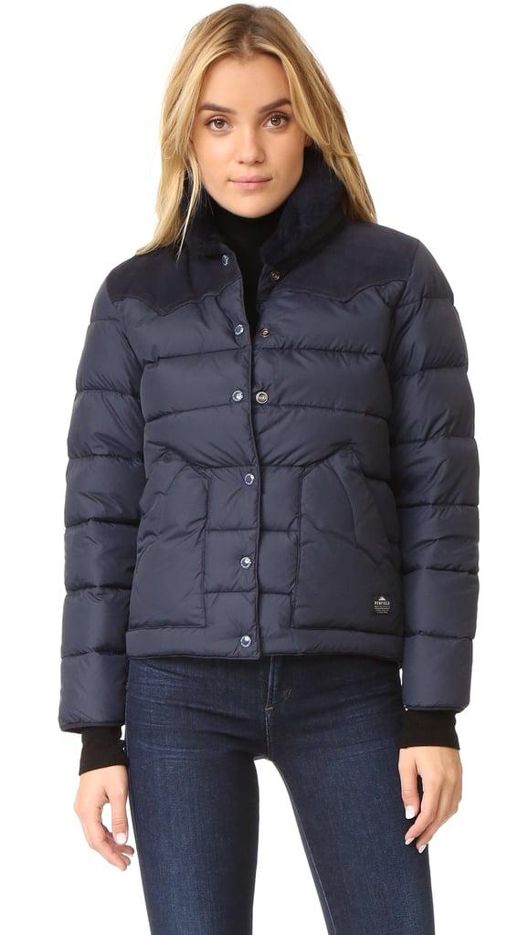 Penfield Rockwool Suede Yoke Down Jacket ($300)