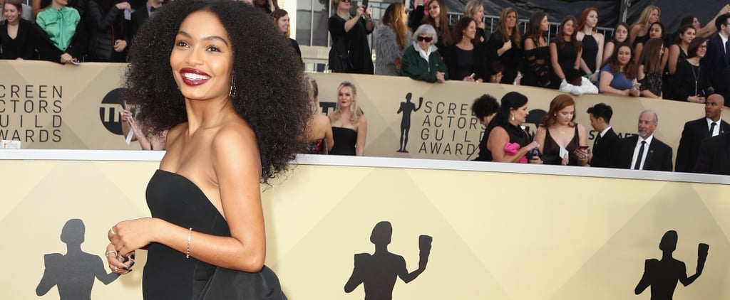 Yara Shahidi Couldn't Pick Between a Gown and a Jumpsuit, So She Wore a Bit of Both