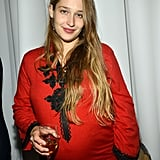 Pregnant Girls star Jemima Kirke went out in NYC.