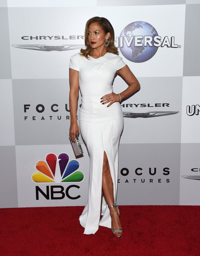 Jennifer Lopez Channels Old Hollywood at Globes Afterparty