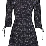 Ditsy Star Frill Tea Dress ($85)