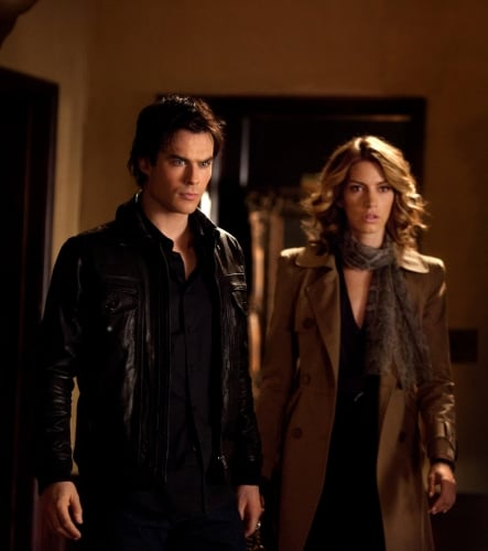 Fresh Vampire Diaries Pics: There's a New Vampire in Town!