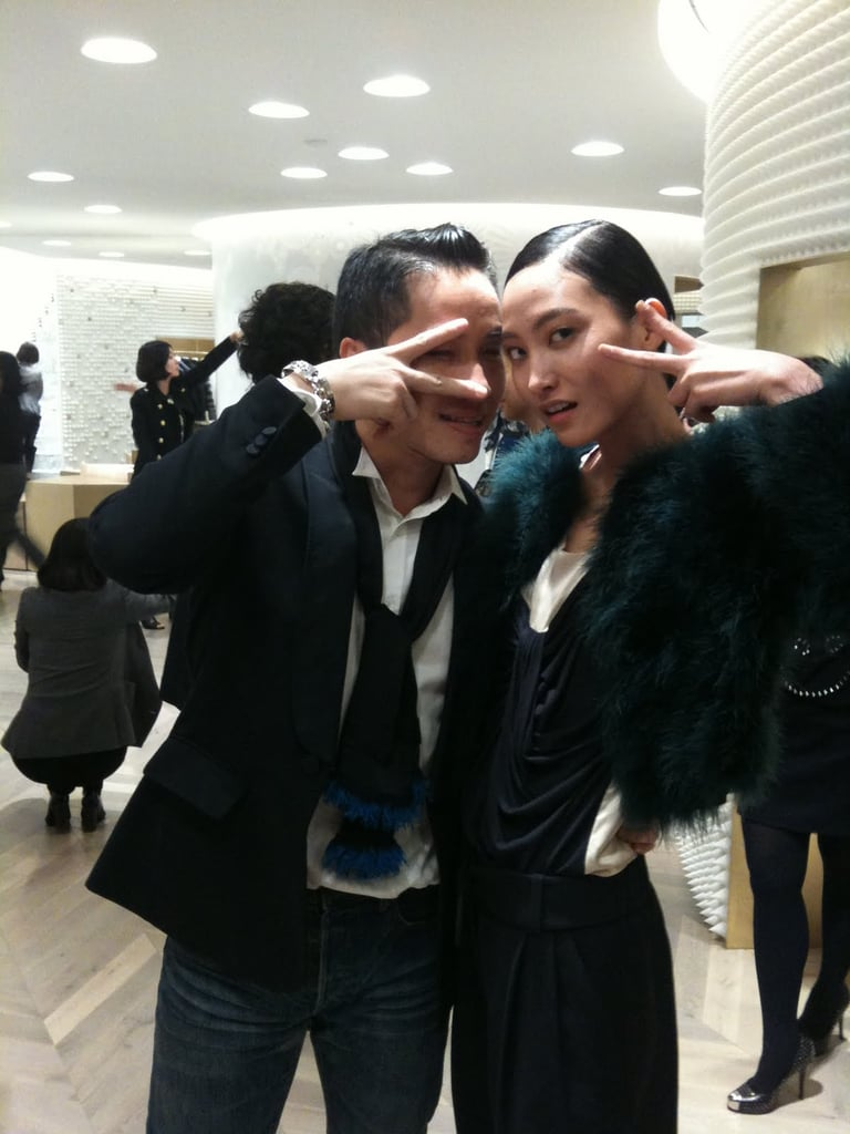 Oct. 20, 2009: With Phillip Lim at Dazed & Confused party in Seoul