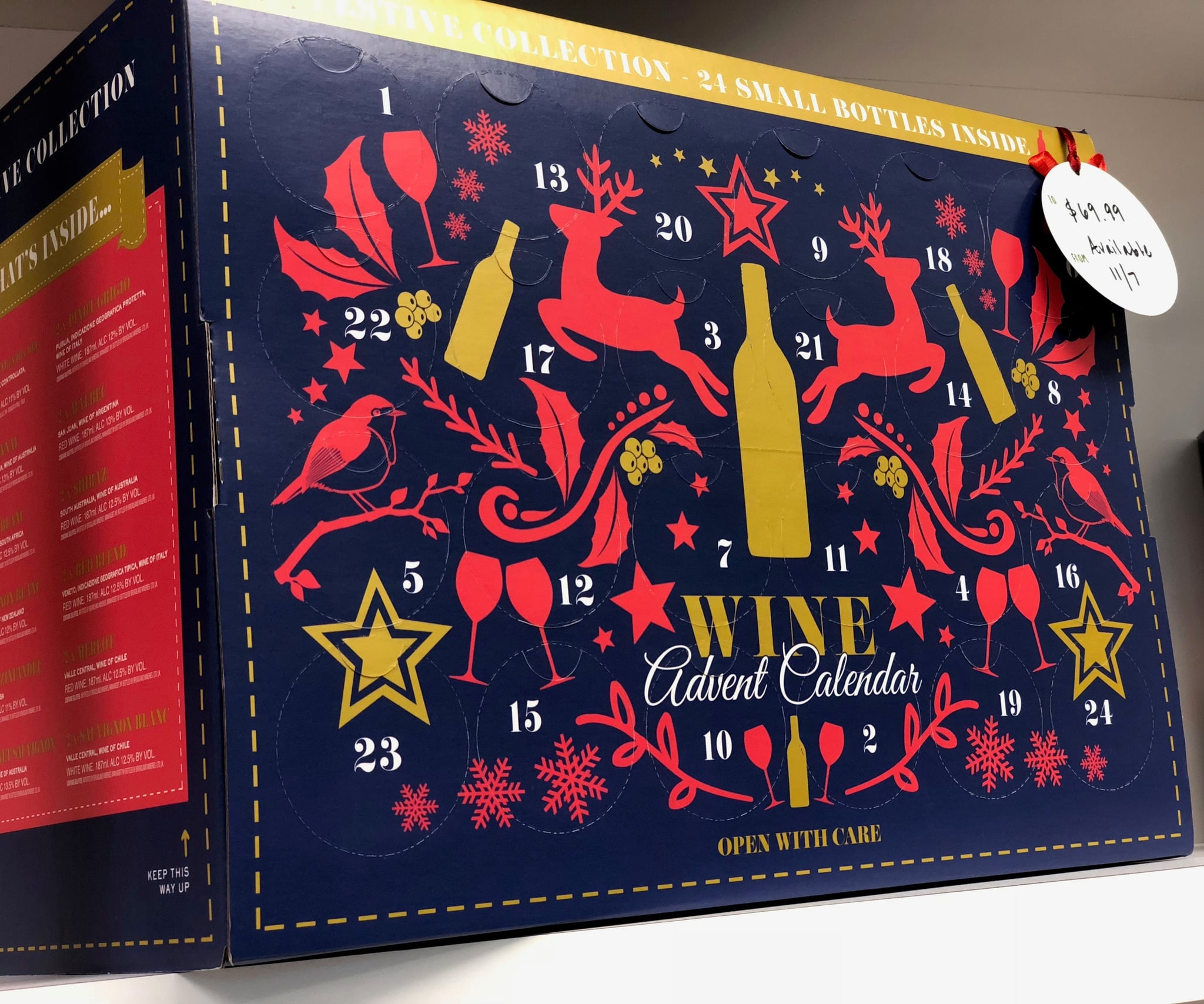 Aldi Wine Advent Calendar Available In The Us Popsugar Food