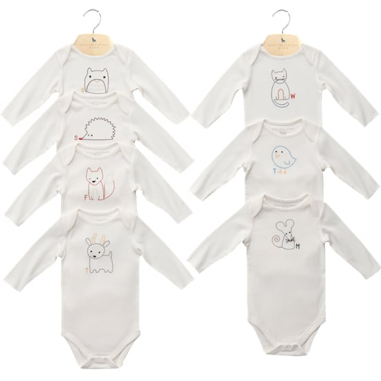Stella McCartney Days of the Week Onesies