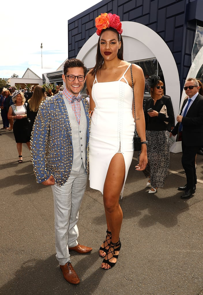 Rob Mills And Liz Cambage
