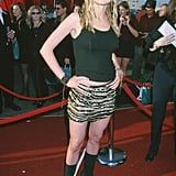 Heather Graham channeled Felicity Shagwell.