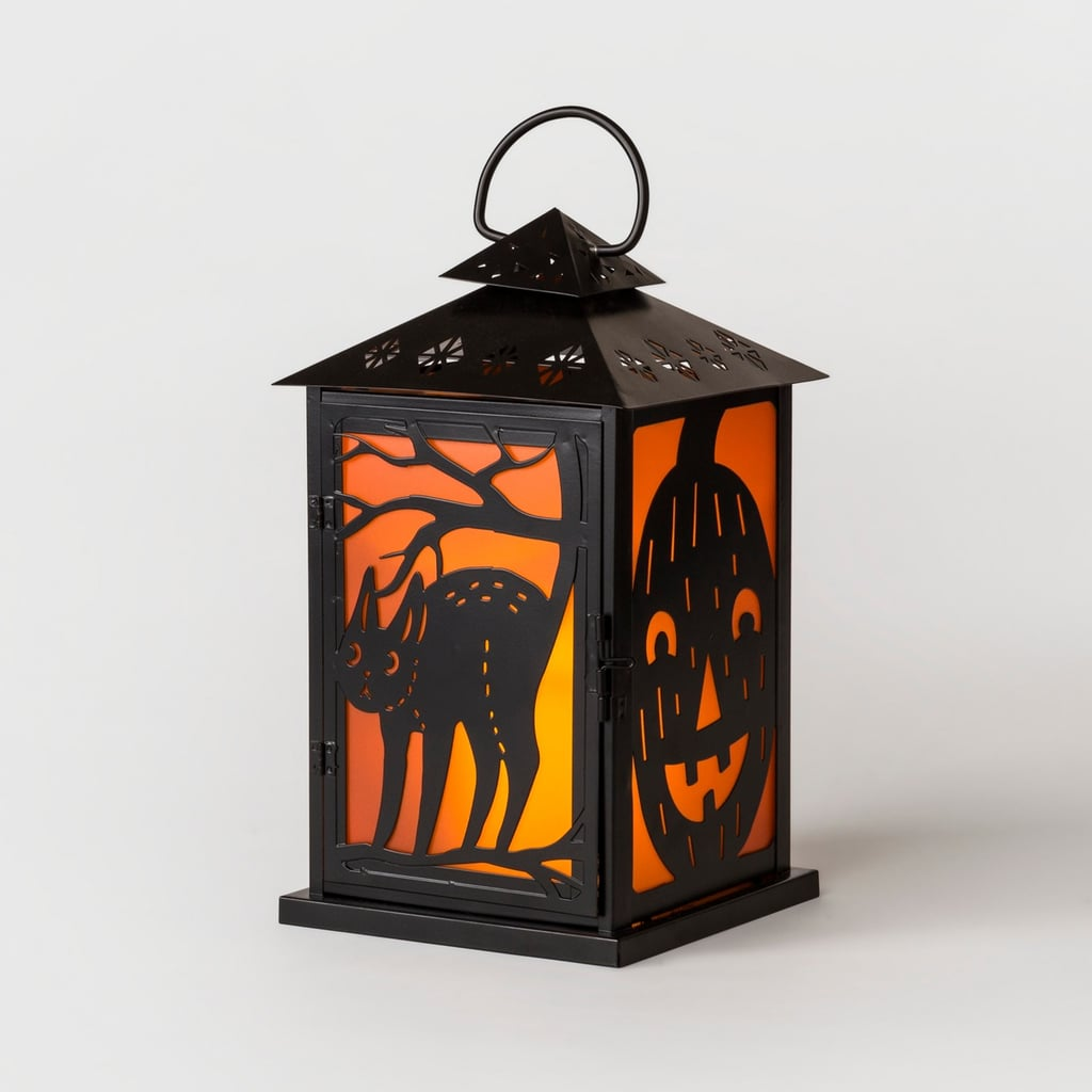 Hyde and Eek! Boutique Halloween Small Metal Lantern