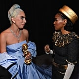 Pictured: Lady Gaga and Janelle Monáe