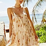 Sunlit Printed Mini Dress