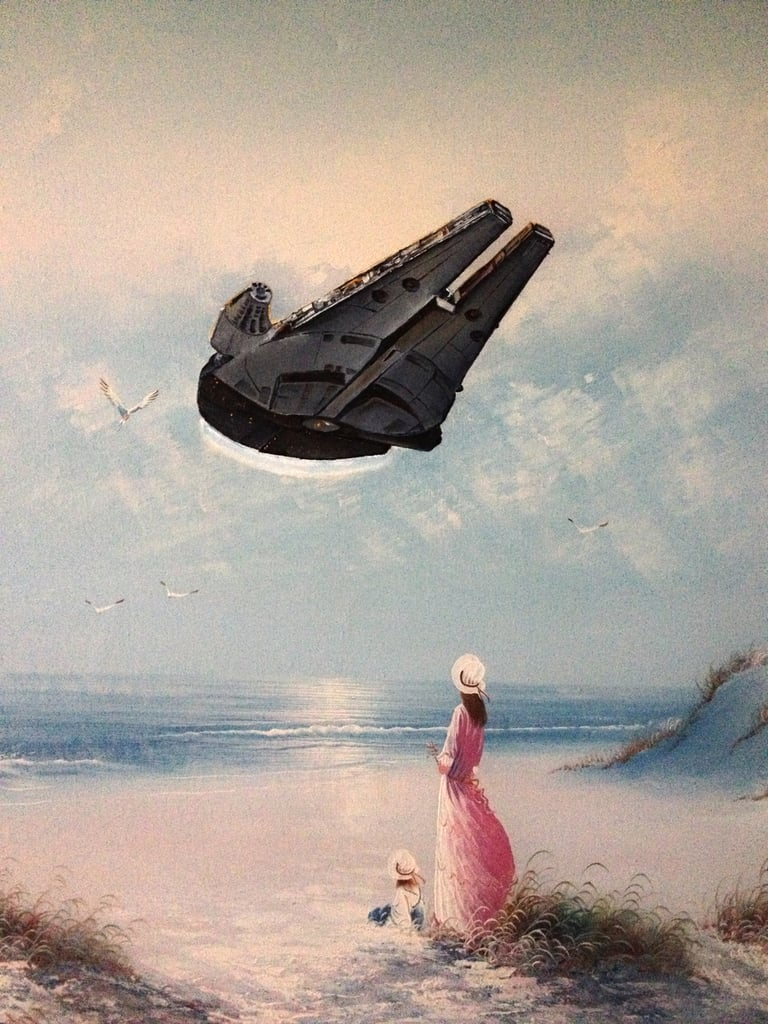 When Star Wars and Legos Become Fine Art